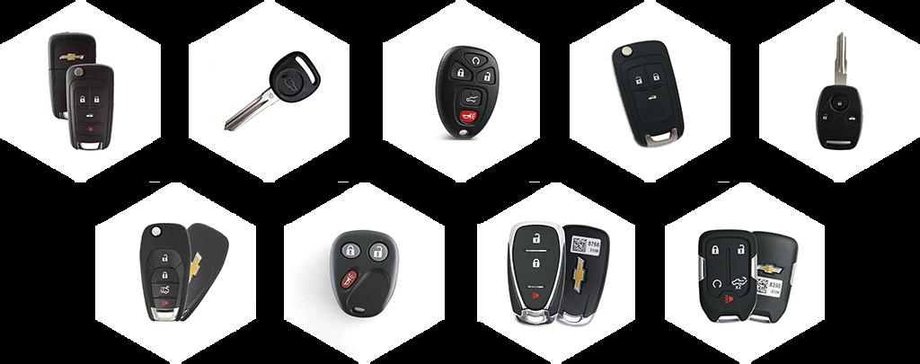 Chevrolet Car Key