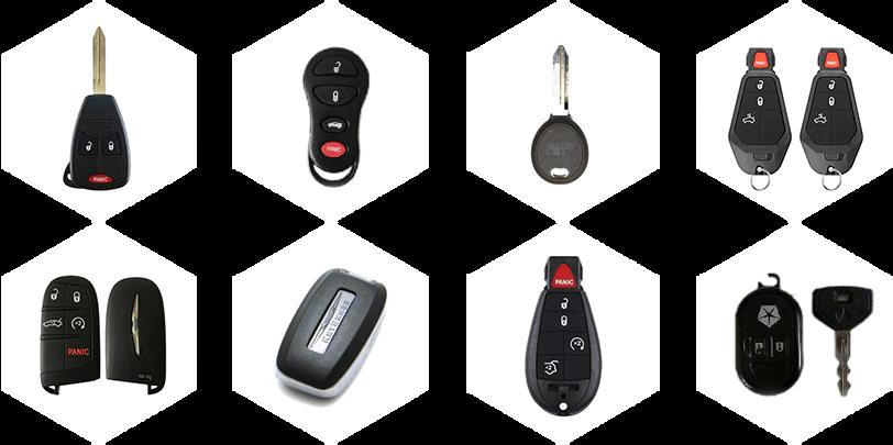 Chrysler Car Key