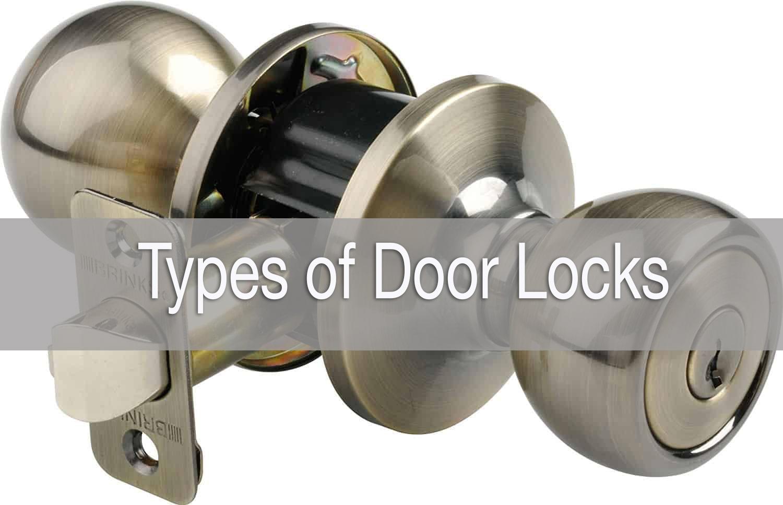 Types of door lock